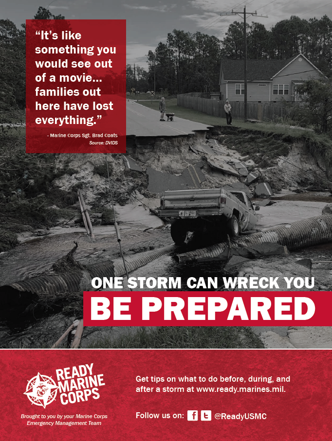 One Storm Can Wreck You Poster