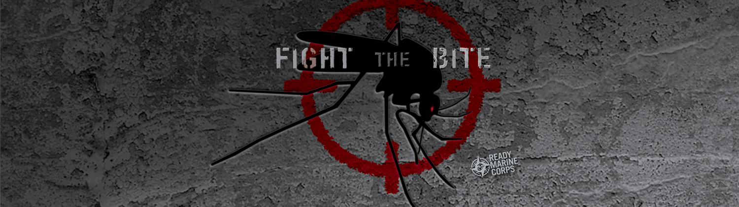 'Fight the Bite' promotional header image.