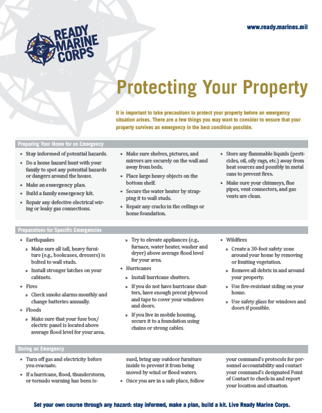 Protecting Your Property FactSheet