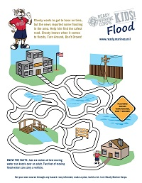 Flood Kids Activity Sheet