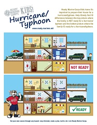 Hurricane Kids Activity Sheet