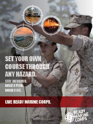 Ready Marine Corps Promo Flyer